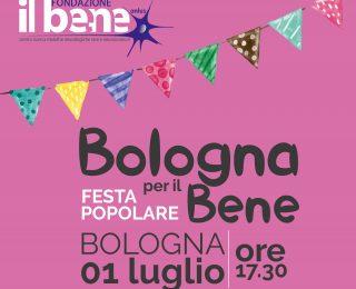Bologna si conferma città che sceglie il bene, festa popolare in villa